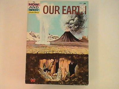 Vintage 1960 The How and Why Wonder Book - Our Earth