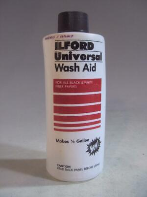 Ilford Universal Wash Aid For All Black & White Fiber Papers #O