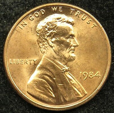 1984 Uncirculated Lincoln Memorial Cent BU (C02)