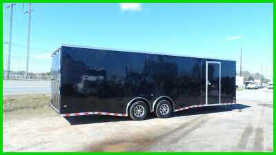 2019 Covered Wagon 8.5x24 car hauler motorcycle package New