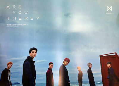 MONSTA X [TAKE.1 ARE YOU THERE?] Album SEA Ver. Official FOLDED POSTER ONLY