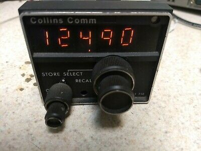 Collins VHF-251 Comm transceiver Microline
