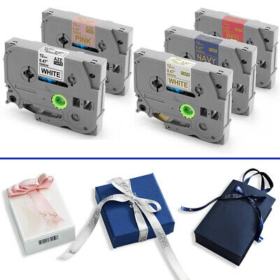 Compatible Brother P-Touch Ribbon gift Tape PT-H101 PT-H105 PT-H200 TZe-R231 E34