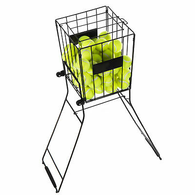 Convertible Metal 85 Tennis Ball Pick Up Hopper & Training Aid Basket Stand
