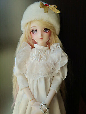 OOAK customized Dollfie Dream DDdy modded with DDH-07 head full doll BJD Legit