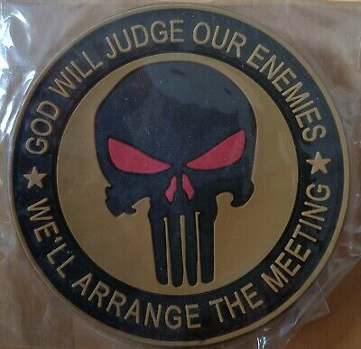 Punisher patch PVC