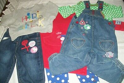 Baby girl clothes bundle Marks & Spencer 12-18m -combined postage available