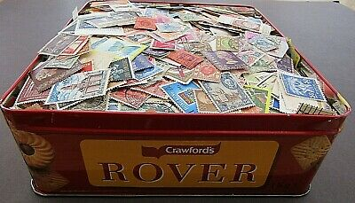 Vast Collection Of Stamps In Biscuit Tin - All World/all Periods - Est 15,000+