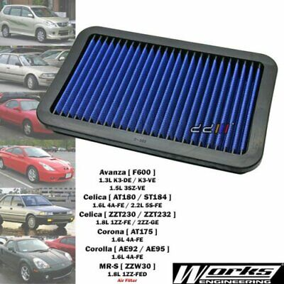 Works Engineering High Flow Air Filter Kit For Avanza F600 1.3L 1.5L 2003-2011