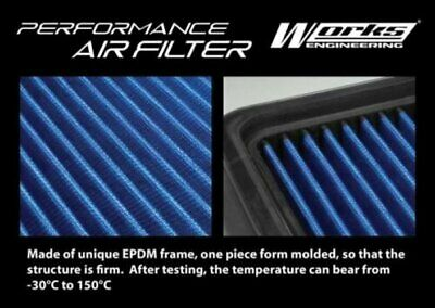 Works Engineering High Flow Air Filter Kit For Honda City Fit Aria 1.3 1.5 03-08
