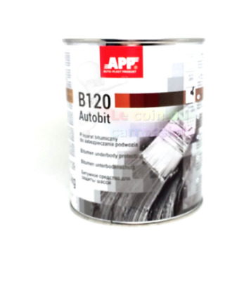 1 pot de protection bitume, auto,mastic, anti-gravillon, carrosserie, (BA09)