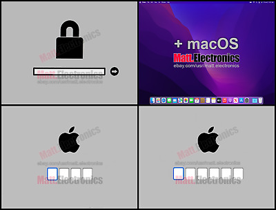 🍎 Apple Mac EFI & iCloud 4-6 PIN BIOS Password Removal Service + Latest macOS.