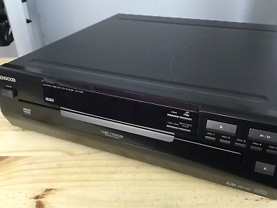 Kenwood DVD CD Player DV-505 5 Disc Changer Works Perfect tested!!