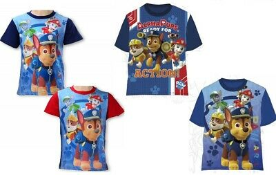 Boys Paw Patrol, Planes T-Shirt, Top 3 To 8 Years