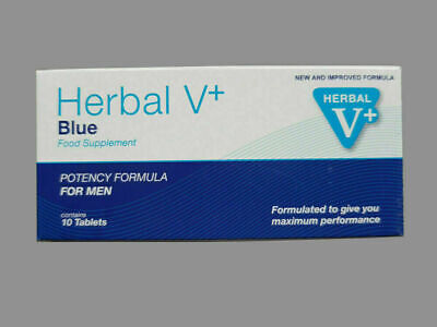 10 X Herbal Blue V Extra Strength , Sexual Male Pleasure Enhancer.pop It All Up