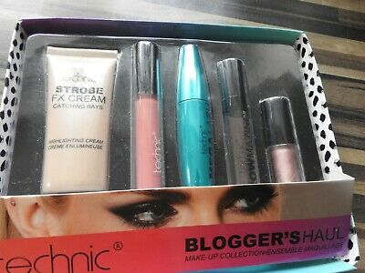 technic make up collection bloggers haul
