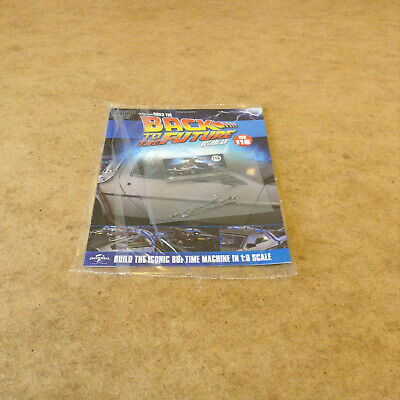 Build Back To The Future Delorean Time Machine Issue 116 1:8 Scale Diecast Parts