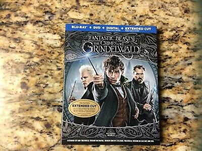Fantastic Beasts The Crimes Of Grindelwald - Blu-Ray + Dvd + Digital)  Slipcover