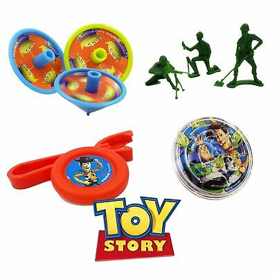 24 Disney Toy Story Birthday Kids Party Loot Bag Favours Gifts Puzzles Spin Top