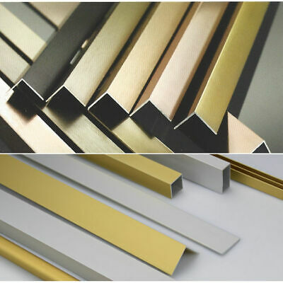20mm x 20mm Aluminium Angle 2000mm & 1000mm lengths various finishes
