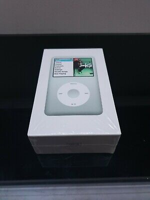 Sealed Apple iPod classic 7th Generation Silver, Brand New, Boxed (120 GB)