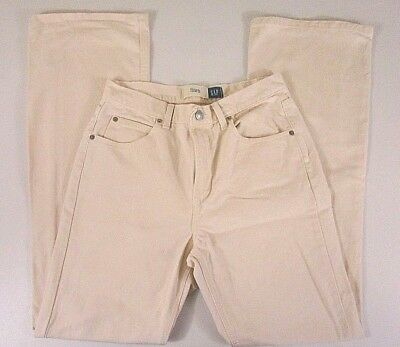 8b15f05ef77e5e Gap Women's White Jeans Size 30 Waist Flare Cotton Blend Stretch White Wash  X