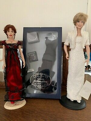 Franklin Mint Diana and Rose Dolls