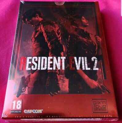 Resident Evil 2 Remake Ps4 Neuf Sous Blister Edition Collector Pix N Love