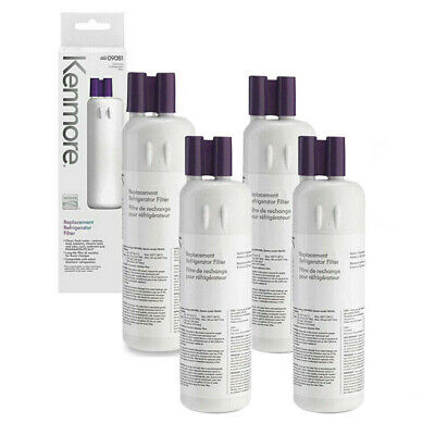 4 PACK Kenmore 9081 Fits Whirlpool-W10295370A-Refrigerator Water Filter Replace