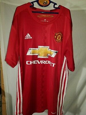 los angeles 5da11 51b14 ADIDAS ZLATAN IBRAHIMOVIC #9 Manchester United Football Soccer Jersey Youth  M 28