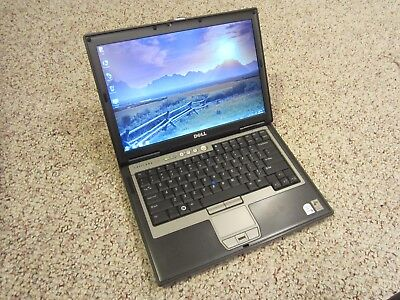 Dell Latitude D620 Laptop Core Duo 4GB Ram 160GB HDD WiFi Windows 7 Pro Complete