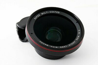 Zomei Macro Lens 2in1 Universal 37mm with Clip 0.6X Wide Angle Lens from Japan