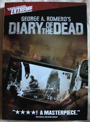 Diary of the Dead George Romero's DVD 2008     READ LISTING RULES
