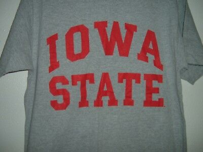 finest selection 6617a 12730 NCAA Iowa State Cyclones Adult Medium Book Store T-Shirt