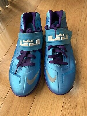 release date: 53c10 d2db4 NIKE LEBRON BLUE DS Zoom Soldier 7 VII 599818-403 US 7Y UK 6