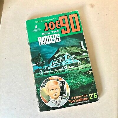 Gerry Anderson Joe 90 and the Raiders paperback book 1968 - Tod Sullivan Story