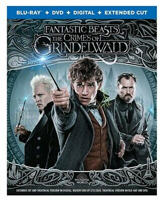 Fantastic Beasts and the Crimes of Grindelwald Blu-ray Only