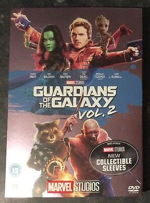 Guardians Of The Galaxy 2  Marvel Dvd Ltd Ed Sleeve (Sleeve Only No Dvd) Free P