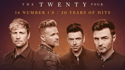 4 x Westlife Tickets Manchester Area