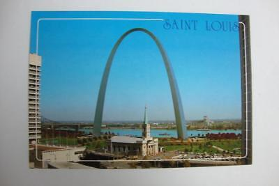 994) St Louis Mo ~ Jefferson Nat Expansion Memorial ~ Gateway Arch ~ Cathedral