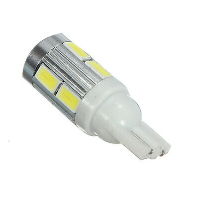 4X(2 X Bombilla Luz Lateral Sin Errores CANBUS T10 501 W5W 10 LED 5630 SMD Xe 3V