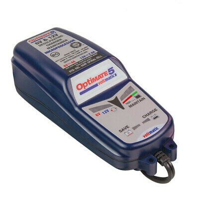 Chargeur de batterie TECMATE Optimate 5 VOLTMATIC 6V et 12V 2.8A TM-222