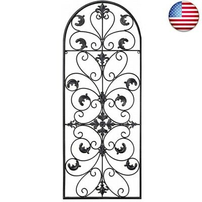 GB HOME COLLECTION gbHome GH-6777 Metal Wall Decor, Decorative (Black)