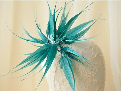 80 Colours Goose Twistable Feather Mount Flower Millinery Hats Fascinator Craft