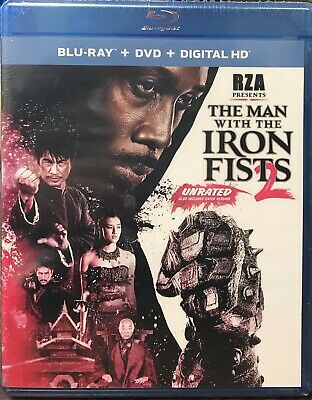 The Man with the Iron Fists 2 (Blu-ray/DVD, 2015, 2-Disc Set) NEW SEALED