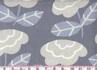 Overstock Floral Drapery Fabric 100% Linen Braemore  First Home CL Cornflower