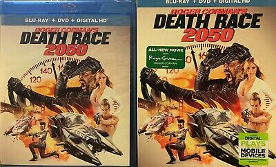 Death Race 2050 (Blu-ray/DVD, 2017, 2-Disc Set) NEW SEALED WITH SLIPCOVER