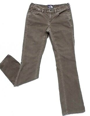 749ebb04819 The North Face Cords Women's Size 2 R Boot Cut Corduroy Pants Stretch Low  Rise