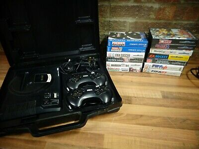 Mega Drive Console And  13 Games
