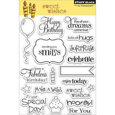 """Penny Black Clear Stamps 5/""""X7/"""" Micey Day 759668300280"""